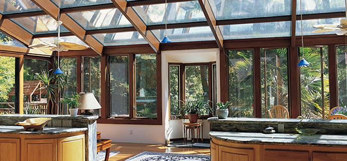 Four seasons sunrooms of northwest indiana screen 4 season solarium